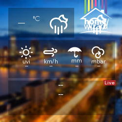 HomeWizard Weather Widget