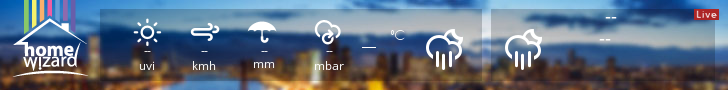 HomeWizard Weather Widget